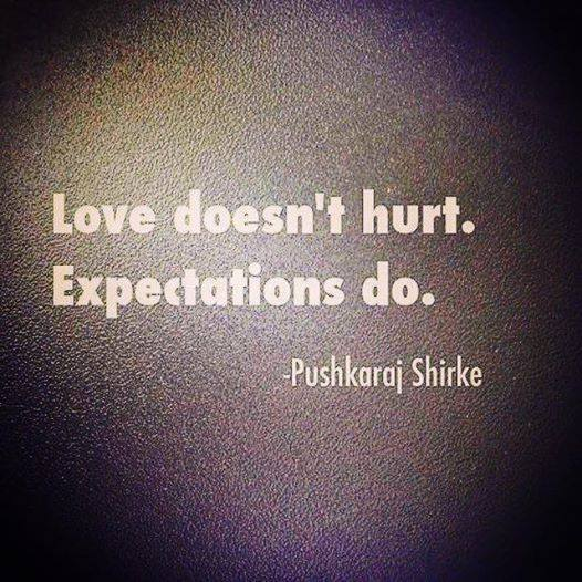 love does not hurt
